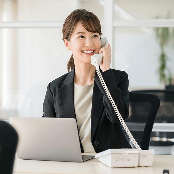 高品質な電話転送サービス2